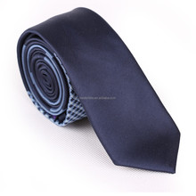 Silk checked woven plaid neck tie China hot selling wholesale