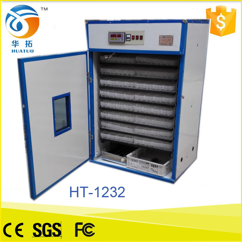 automatic commercial incubators for hatching eggs emu egg incubator made in china with high hatching rate for sale HT-1232