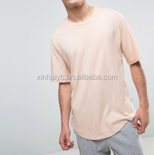 Customzied Blank Cotton Street Style Oversize T Shirt Drop Shoulder