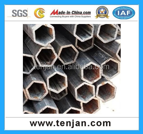 high strength hexagonal steel tube triangle steel tube carbon steel tube