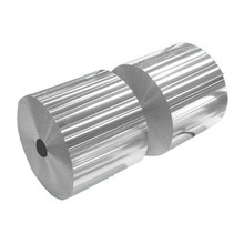 Disposable decorative red aluminum foil jumbo roll