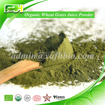2016 New Certified Organic Wheat Grass Juice Powder