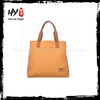 Brand new trendy cotton canvas tote bag long handle