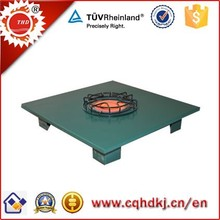 Infrared patio ceramic panel gas heater with bar square table