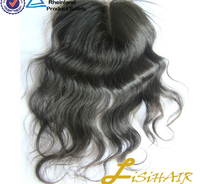 Cheap Indian Weaves hair swiss lace closure ,cheap lace closure with baby hair, lace closure