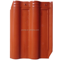 New Style Full Body Glazed Clay Bent Ceramic Roof Tile