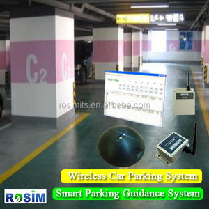 New Zigbee Car Parking Sensor System for Smart Parking /Car Counting System with Wirelss Mesh Network