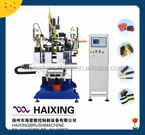 Steel Wire Wooden Brush Drilling and Tufting Making Machine