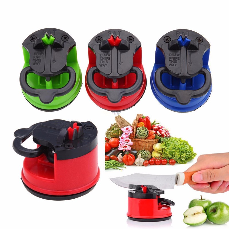 Factory Wholesale High Quality Suction Base Kitchen Mini Knife Sharpener