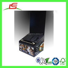 E0037 Customized Paper Large Floor Standing Ballot Box, Pre Printed Cardboard Lead Box