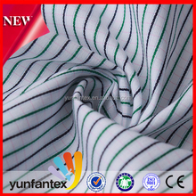 2016 italian cotton shirting fabric cation dyed Fabric