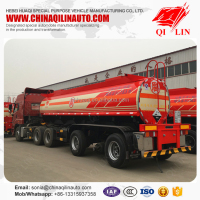 20000 Liters Acid Tanker Semi Trailer