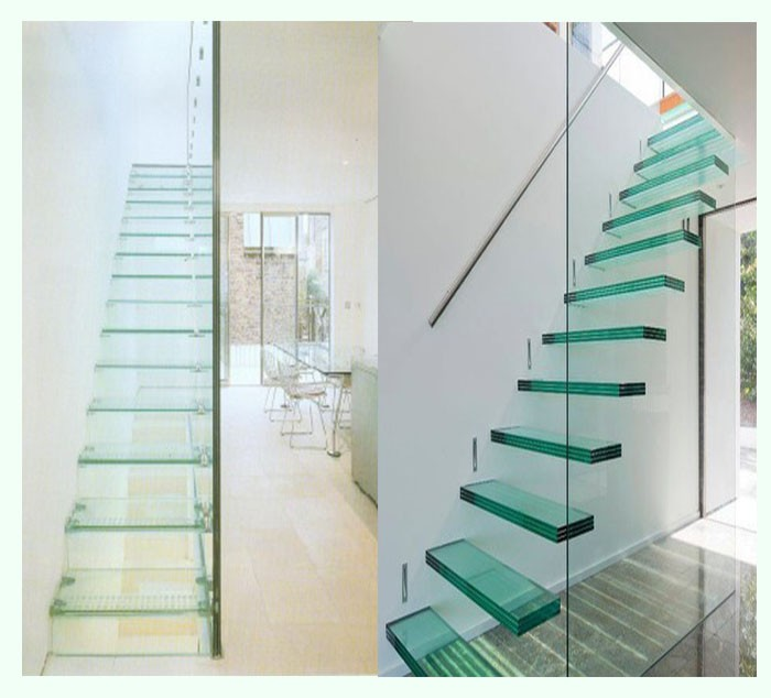 Ultra white hotsale tempered glass for staircase