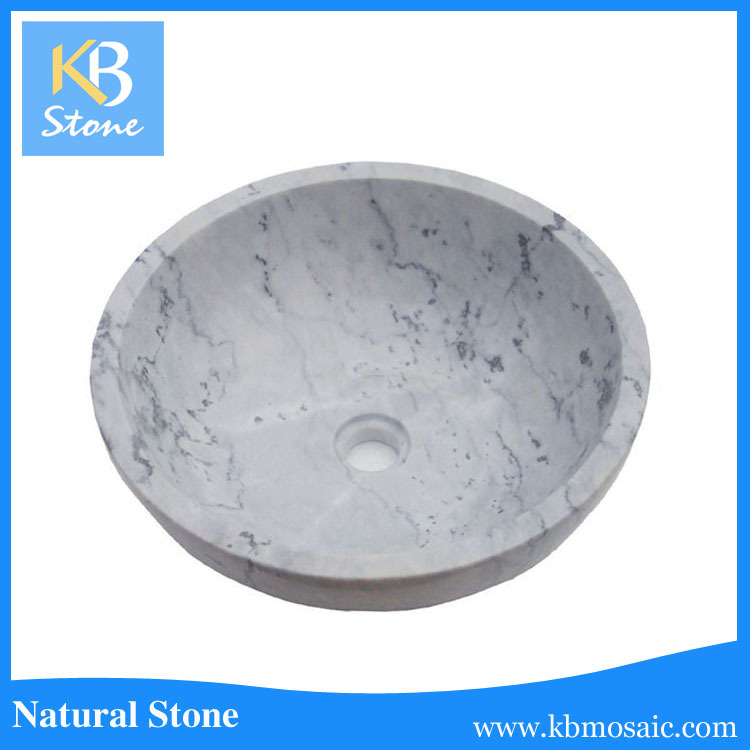 2016 KB STONE Top Natural River Stone Wash Basin for hot sale