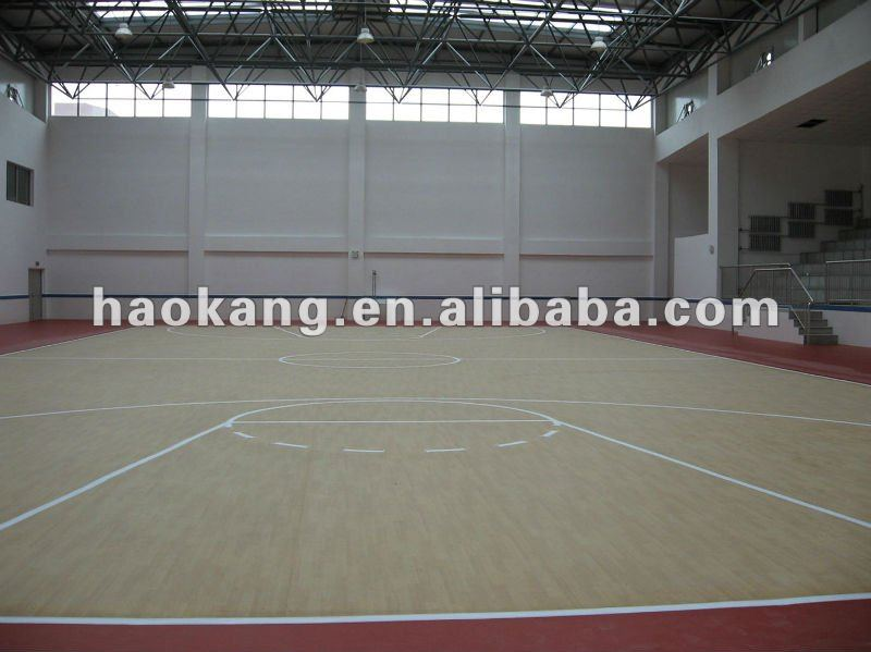 Indoor Maple Basketball court sports flooring
