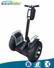 2017 EcoRider Most Popular 2 Wheel Stand up Electric Scooter, Electric Gyropode, Electric Chariot for Sale