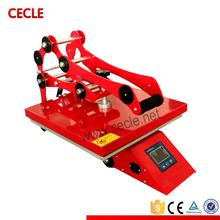 Hot selling flat heat press transfer machine for t-shirt ce