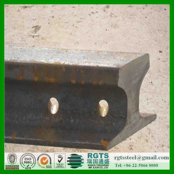 Hot sale of UIC60 railroad steel rail