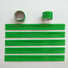 Green Reflective Safety Snap Band