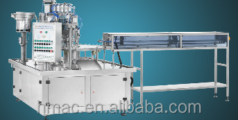 Juice & Water Pouch Filling, Capping Machine