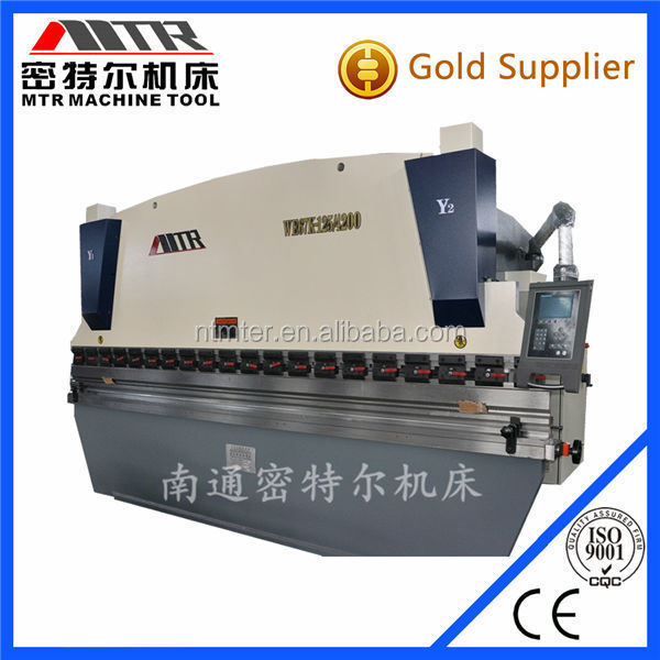 WE67K - 160 X 4000 cnc press brake automatic bending machine for sale