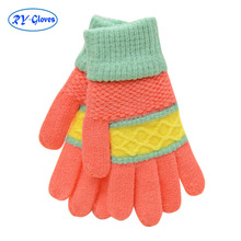 RY036 Lanxi Ruiyi wool wholesale daily life usage warm soft hand gloves for winter