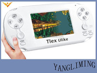 3.5inches screen +4.1.1 android OS version+TV transfer+wifi wireless dual-console+two joystick handheld game player