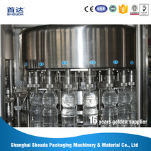 New launched products 15mm-45mm Bottle Mouth diameter steel heavy water bottle filling machine