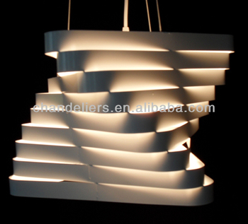 2014 Modern Square Shape Contemporary Ceiling Light