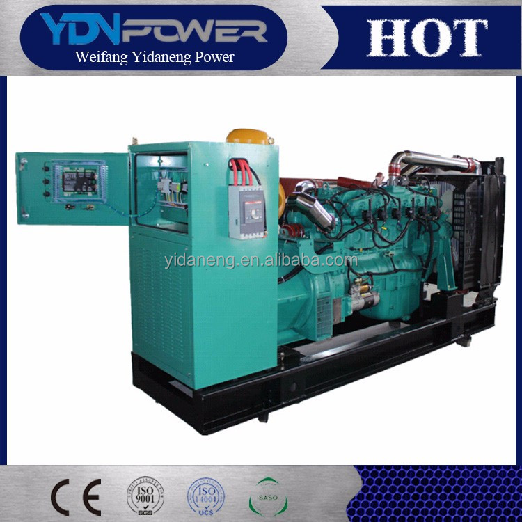 Yidaneng 150kw 187.5kva heavy generator turbine for sale