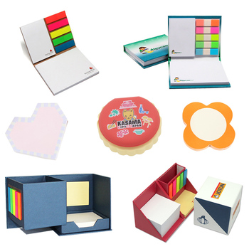 Promotional adhesive sticky notepad sticky notes for promotion gift