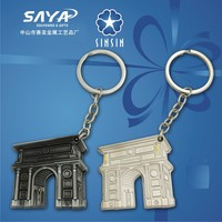 Building 3D souvenir keychain with competitive price