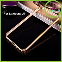 2015 hot selling luxury Aluminum Metal Bumper for Samsung J7