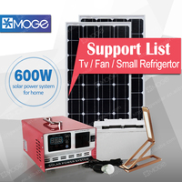 Solar pv system 400w 600w 1kw 2kw 3kw whole house solar power system for sales in punjab