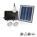 4W Panel Portable Solar Home Lighting System With Li-Ion Battery 7.4V 5200Mah