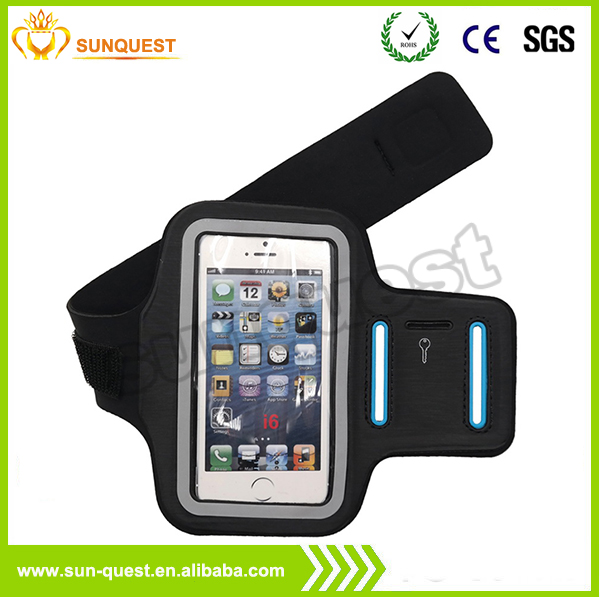 Hot High quality reflective running armband cellphone