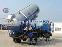 Dongfeng 5-6M3 sewage pump tank truck for sale