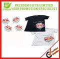 Top Quality Customized Promotional Compressed T-Shirts