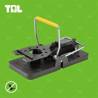 Best Selling Metal Mouse Trap Metal Snap Trap Black Mouse Control Trap(TLPMT0502)
