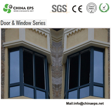 eps moulding cornice with eps facade cladding for relief sculpture board