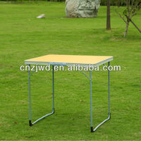 Small Yellow Lightweight Folding Camping Table