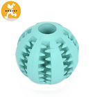 Pet Training Ball Interactive Dog Toy Wholesale Dog Treat Slow Feed Ball Blue