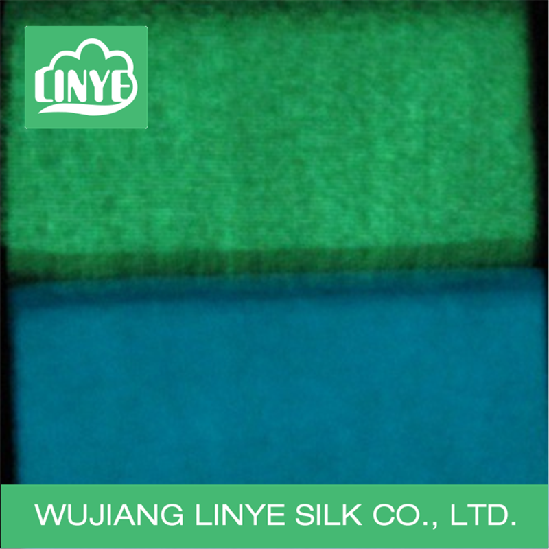 new design 100% polyester velvet glow in the dark fabric, pillow fabric, plush toy fabric