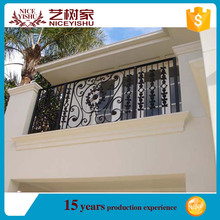 2016 latest outdoor wrought iron balcony railings/veranda fences design/models railings for balcony