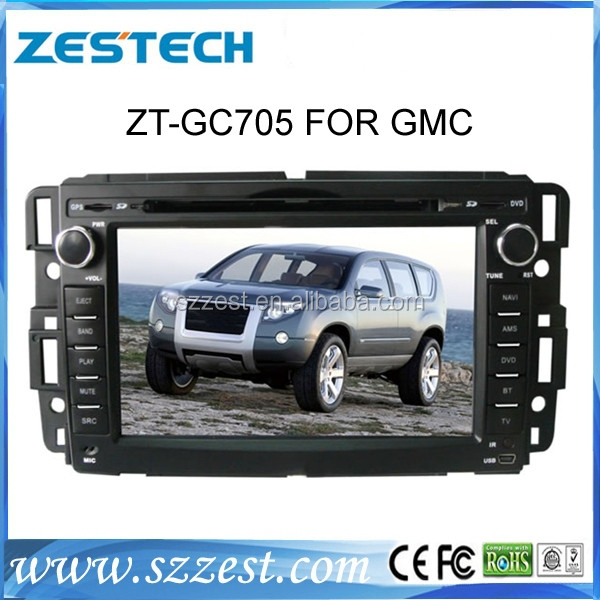 Car audio system for gmc acadia car dvd player with gps navigation