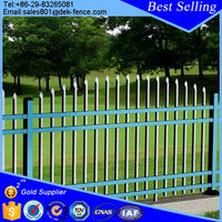 The Material Galvanized Sheet Angle Bar Fence Metal Fencing