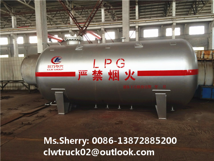 CLW factory customzied size 10cbm-25cbm LPG propane tank for sale in Iran