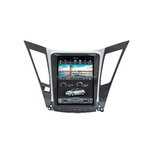 in dash vertical screen android car DVD player for Hyundai Sonata/I45 with GPS Navi and car multimedia