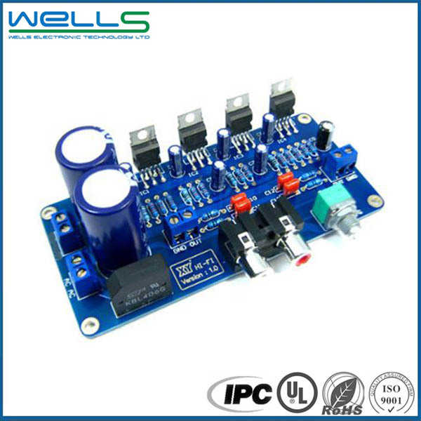 WELLS SMT 0201 0105 Custom circuit board assembly manufacturer