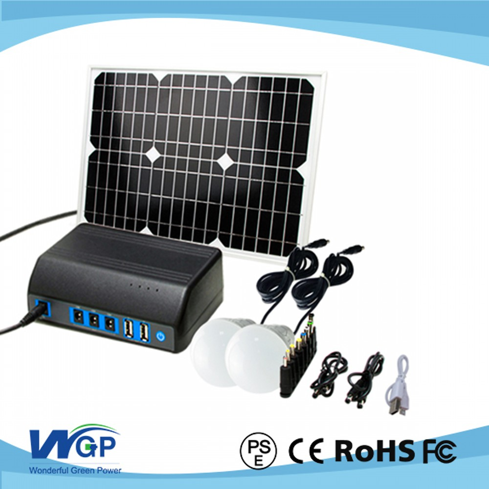 China ShenZhen Manufacturer cheap Price best solar panels solar energy system for home With Phone Charge